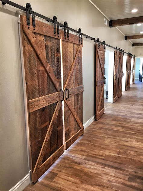 reclaimed wood interior doors barn door classic rustic barn doors barn door sliders