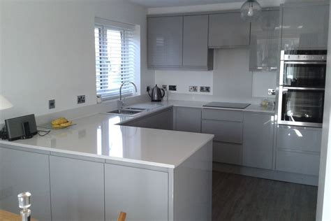 grey gloss kitchen cabinets sheraton gloss grey kitchen kirkby liverpool sheraton