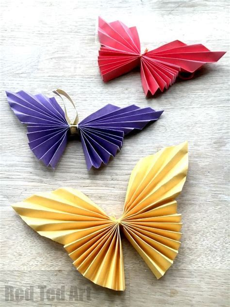 25 Unique Easy Paper Crafts Ideas On Paper