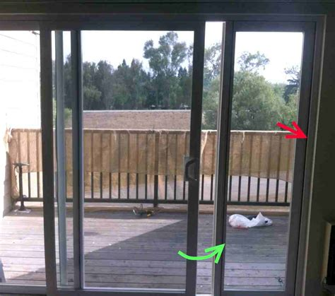 removing sliding patio door sliding glass door removal