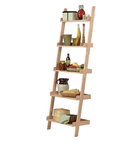 leaning ladder shelves 26 inch leaning ladder bookshelfs simply woods
