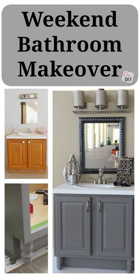 Bathroom Vanity Makeover Diy by Before And After Makeovers 20 Most Beautiful Bathroom