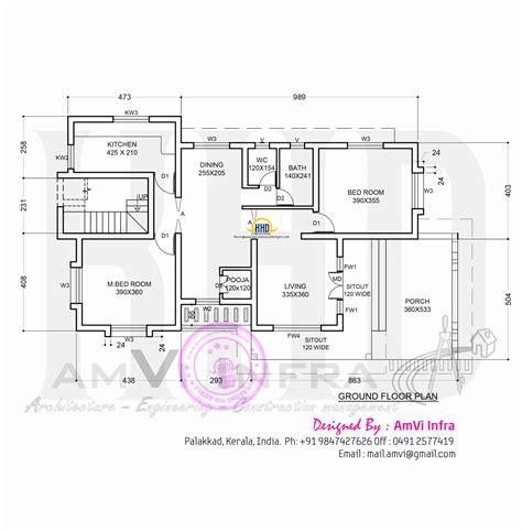ground floor plan november 2014 home kerala plans