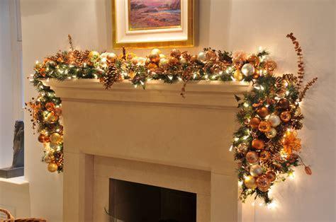 pre lit fireplace garland fireplace garland ideas inspirationseek