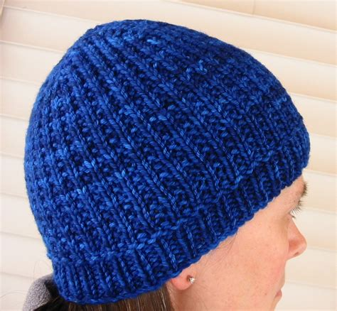knitted beanie pattern knit knit two new hat patterns