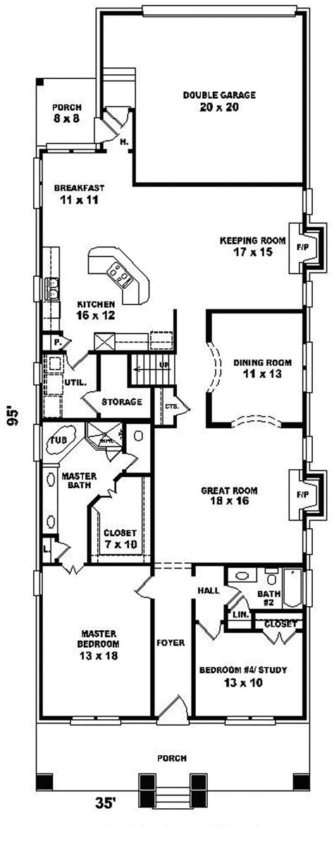 home plans for narrow lot house plans for narrow lot smalltowndjs
