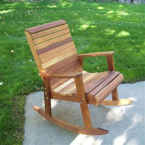 woodworking plans for outdoor furniture outdoor wooden rocking chair plans 2 tables