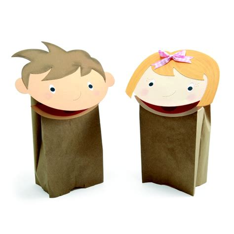 paper puppet crafts shine crafts paper crafts paper bag puppets