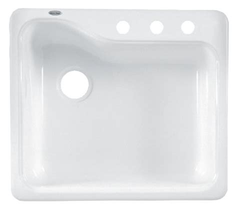 american standard white kitchen sink american standard 7172 803 208 silhouette 25 inch americas