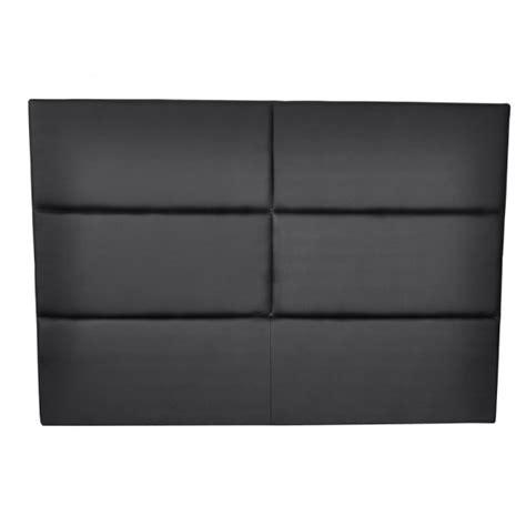 tete de lit simili cuir noir tete lit simili cuir noir sur enperdresonlapin