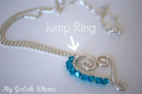 what is a jump ring in jewelry jewelry lessons how to use jump rings my girlish whims