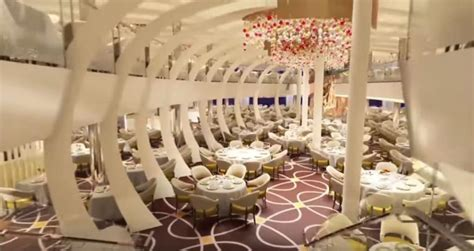 new dining room a look at ms koningsdam dining room in new