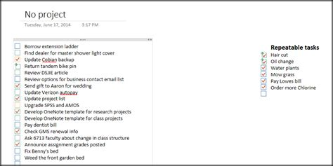 hacking onenote 2013 for getting things done reason for