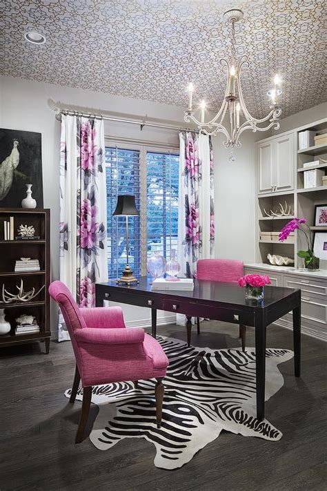 grey and white home decor pink and grey office design contemporary den library