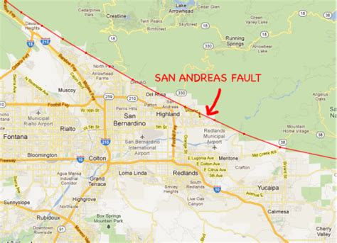 where does a st go we visit the doomed homes on the san andreas fault