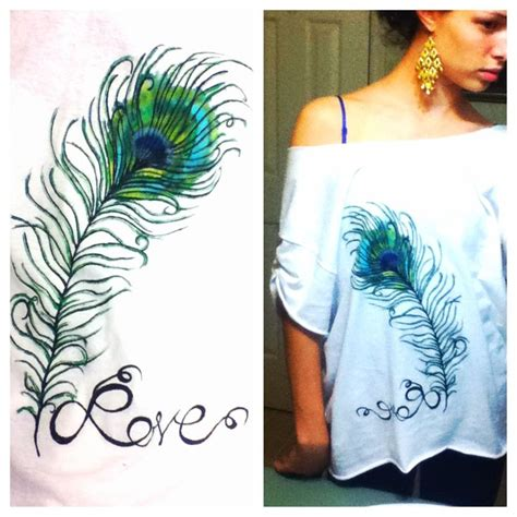 acrylic paint on t shirts 17 best images about painting on peacocks
