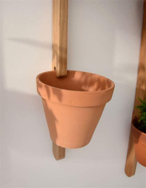 support mural xpot pour 2 pots de fleurs ou 233 tag 232 res h 100 cm ch 234 ne naturel compagnie