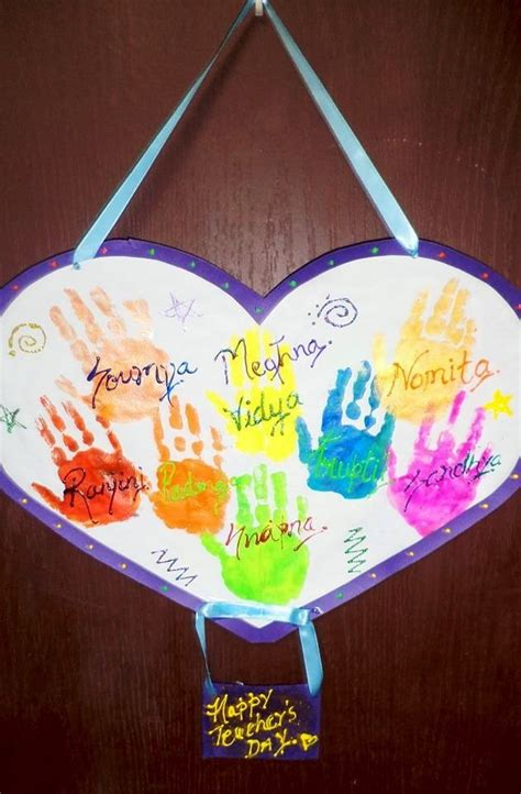 teachers day crafts for and craft ideas for teachers day www pixshark