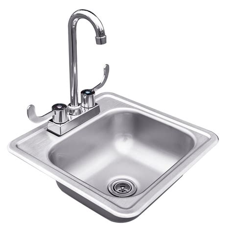 stainless steel drop in kitchen sink stainless steel drop in sink with faucet summerset