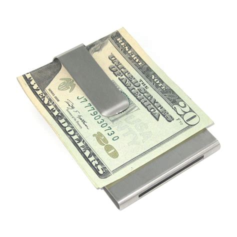 how to make money with credit card personalized brushed stainless steel money clip credit