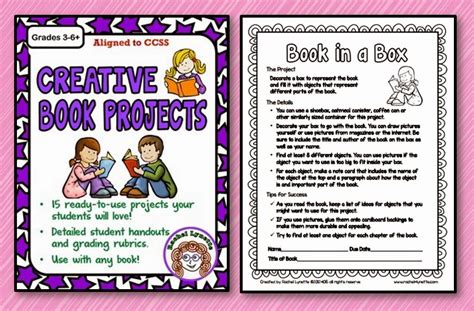 picture book project ten great creative book report ideas minds in bloom