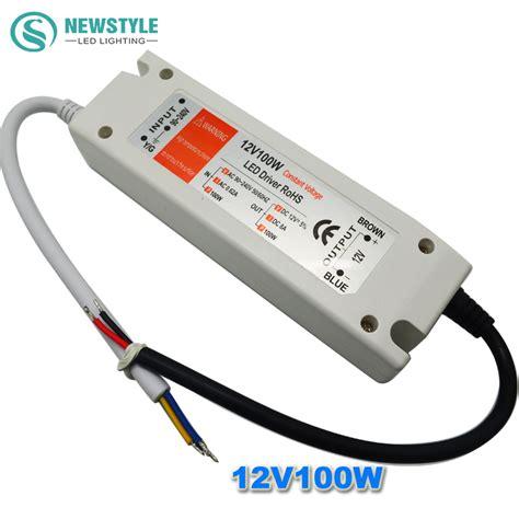 led lighting power supply led power supply 12v 100w led driver power adapter