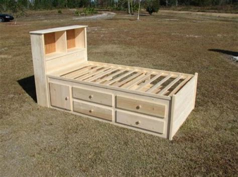 captains bed plans captains bed on beds storage beds and beds with
