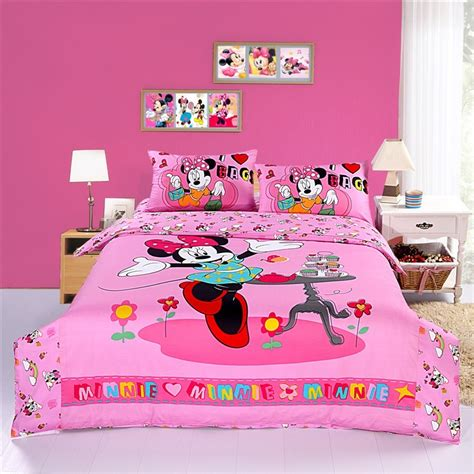minnie mouse bedding sets happy pink minnie mouse bedding sets disney bedding sets