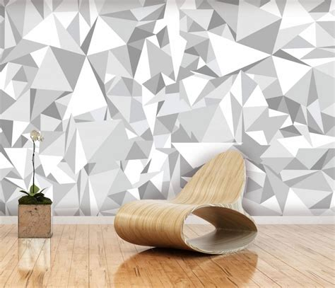 paper wall murals mural paper geometry design walldesign56 wall decals