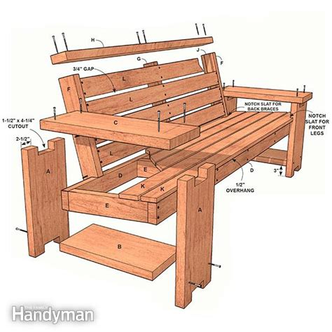 patio bench plans patio combo wooden bench plans with built in end