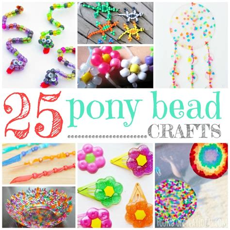 crafts with pony 25 brilliant pony bead crafts for
