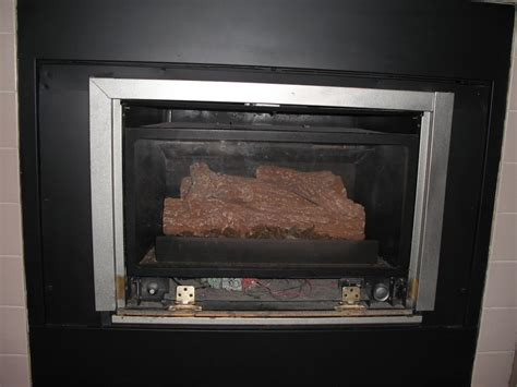 fireplace glass doors open or closed fireplace candle insert idolza