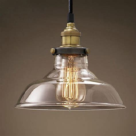 vintage kitchen light fixtures modern led glass pendant ceiling vintage light fixture