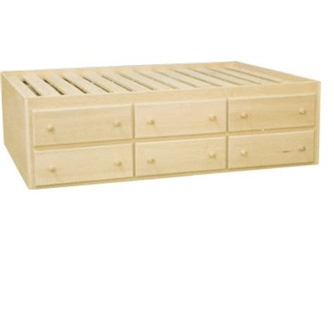 captains bed with drawers inwood captain s bed with 6 storage drawers
