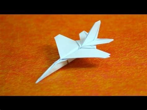 origami paper jet how to make origami f16 jet fighter paper airplanes step