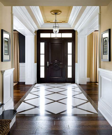 Ballard Design Furniture elegant foyer decor ideas