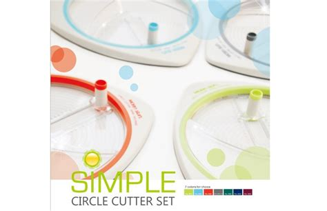 circle cutter paper craft simple circle shape rotary paper cutter for school
