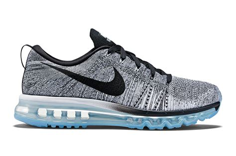 fly knit nike flyknit air max white cool grey wolf grey black