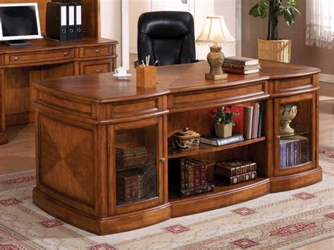 home office wood desk executive computer desk for home executive office modern