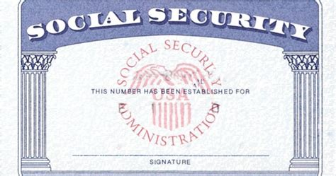 make your own social security card social security number documents checklist office of