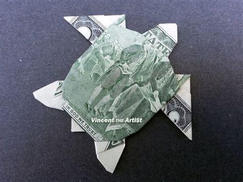 origami dollar turtle 2 bill sea turtle money origami dollar bill
