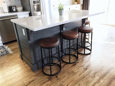 how to build a kitchen island with seating best 25 diy kitchen island ideas on build kitchen island diy build kitchen island