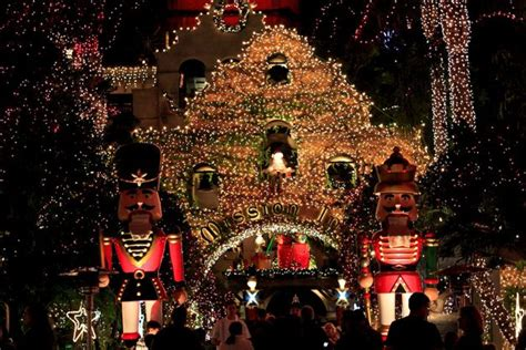 festival in california mission inn festival of lights in riverside ca