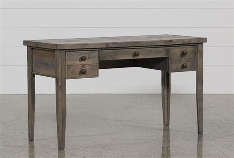 writing desk for ducar ii 54 inch writing desk living spaces