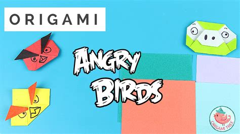 origami angry birds origami angry birds thumbnail 187 origamitree