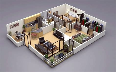two bedroom plan design 25 two bedroom house apartment floor plans