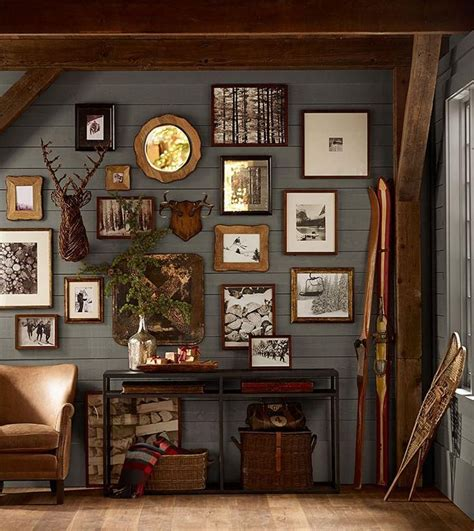 paint colors rustic decor rustic gallery wall cabin fever rustic