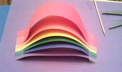 construction paper crafts for adults construction paper rainbow woo jr activities