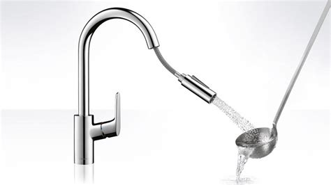 Best Brand Kitchen Faucet focus kitchen mixer hand spray swivel spout hansgrohe int
