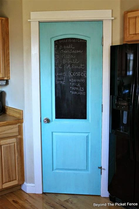 chalk paint interior door 25 best ideas about chalkboard pantry doors on
